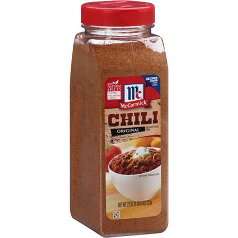 Mccormick Chili Powder Blend Mc Cormick Bumbu Bubuk Cabai Cabe mccormick original chili seasoning mix 22 oz walmart