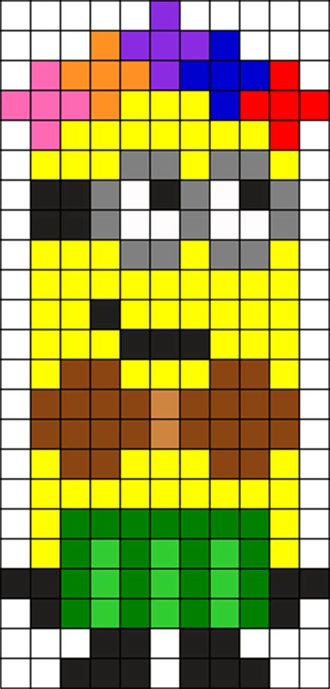 minion bead pattern minion perler bead patterns u create
