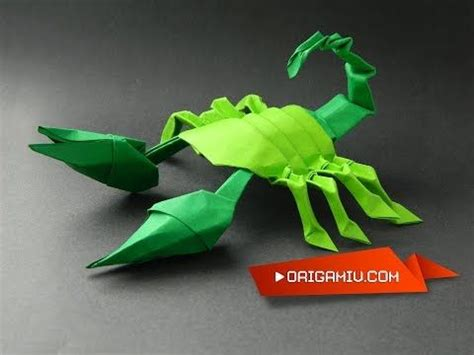 tutorial origami scorpion 387 best images about origami on pinterest paper