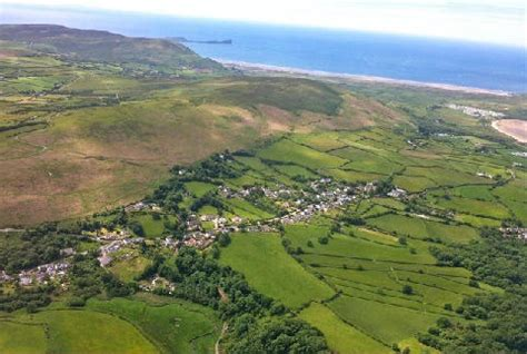 Cottages Gower Peninsula Wales by Middle Cottage Gower Gower Peninsula Wales