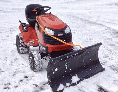 Toro Garden Tractor by Nordic Riding Mower Snow Plow