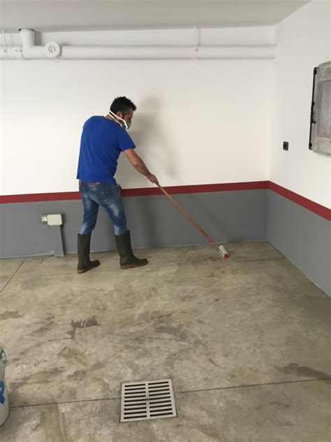 trattamenti pavimenti pavimento in cemento con trattamento in resina belnet srl