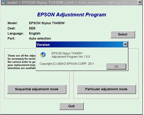 software adjustment resetter program epson t60 epson 1400 eee printer resetter adjustment program rar