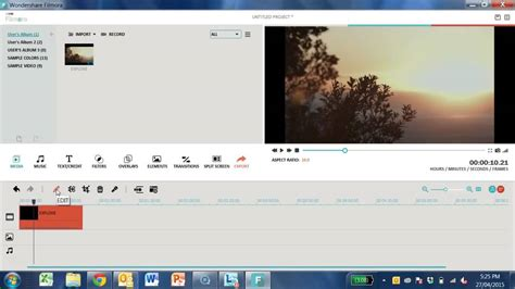 wondershare filmora video editing tutorial wondershare filmora tutorial timeline youtube
