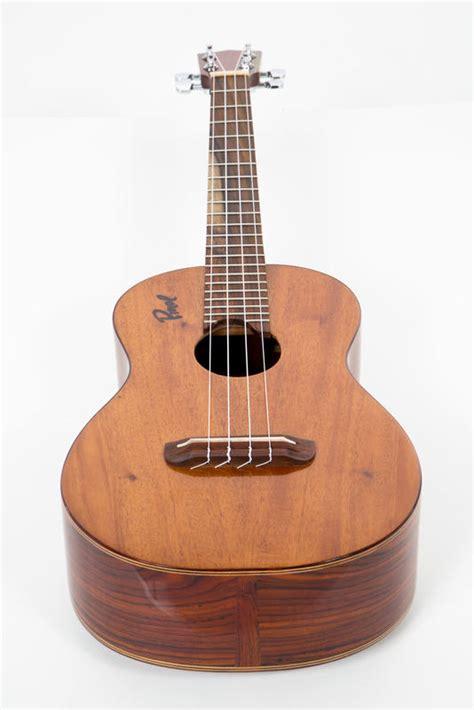 Handmade Ukuleles - basic level custom handmade solid cocobolo baritone