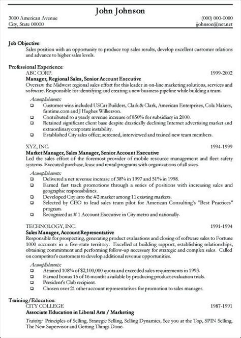 resume template for professionals professional resume sle free sle curriculum vitae