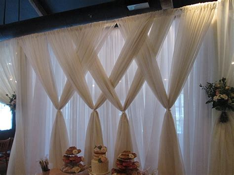 wedding draping backdrop wedding draping design tanis j events