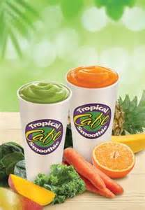 Tropical Smoothie Detox Island Green Recipe by Tropical Smoothies New Veggie Smoothies Island Green
