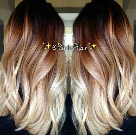 Tri Color Progressive Highlight Wonderful Fall Look Color Highlights Asymmetric Shorthair Tri Blended Hair Balayage Color Melt Onbre Hair Painting Balayage Balayage