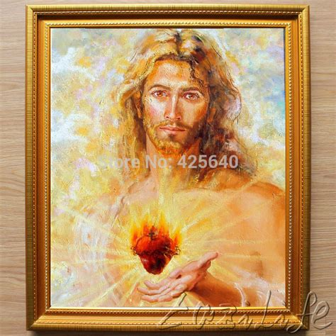 Jesus Home Decor ξhome Decor Jesus ᗖ Painting Painting Sacred Jesus Decor Painting