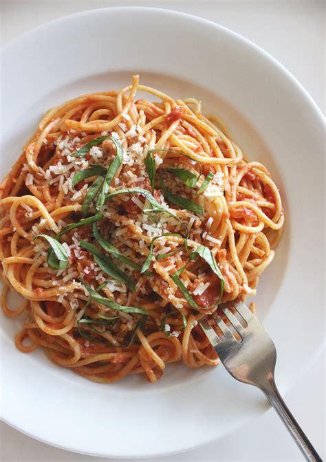 high protein vodka pasta recipe  lunch  dinner
