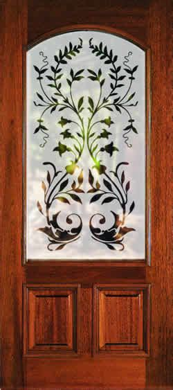 glass etching designs for kitchen we have etched glass doors between between our kitchen and