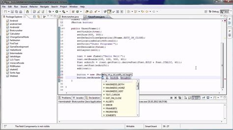 tutorial java button java tutorial 68 buttons kn 246 pfe youtube