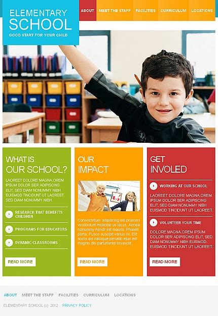 School Brochure Template Free by Play School Brochure Templates Bbapowers Info