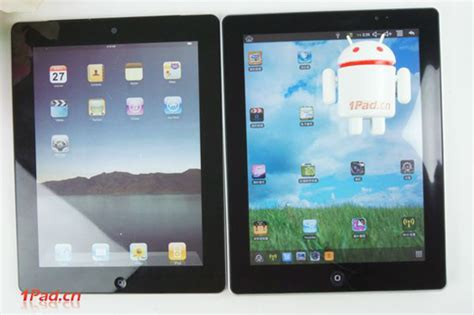new 2 kirf running android with ios 4 x skin hits shenzhen shelves redmond pie - Android Tablet Running