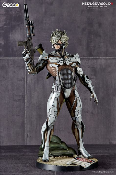figure insider 187 metal gear sdcc2015 exclusive raiden statue by gecco