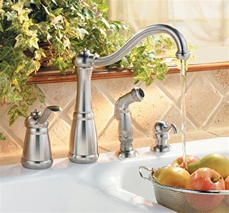 pfister lg264nss marielle 1 handle kitchen faucet with