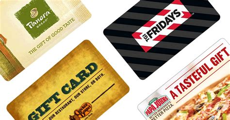 Tgif Gift Card Discount - deep discounts on restaurant egift cards panera tgi friday s papa john s more
