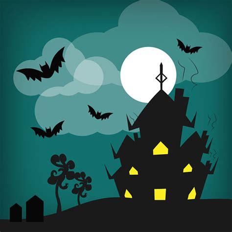 haunted house website design halloween haunted house vector design free vector site download free vector art