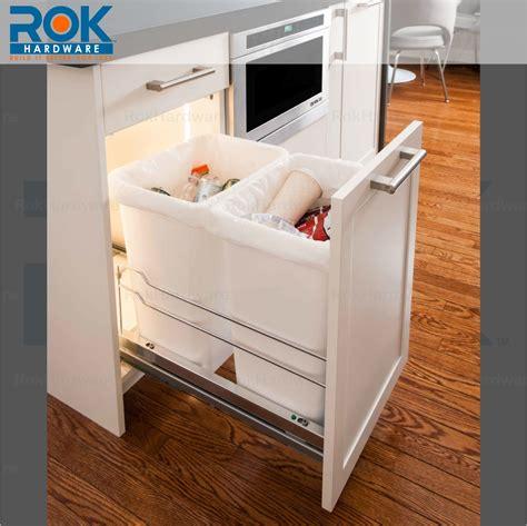 kitchen cabinet recycling center rok kitchen cabinet trash and recycling center for dual