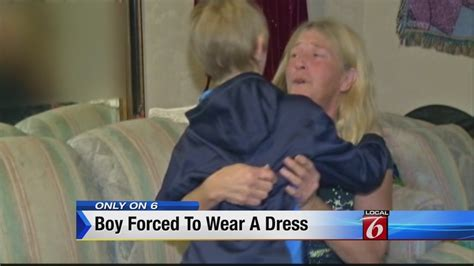 Woman accused of shaming son, forcing him to dress as girl