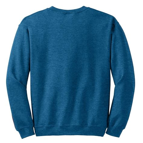 Kaos Polos Gildan Blue Sapphire Size M gildan 18000 heavy blend crewneck sweatshirt antique sapphire fullsource