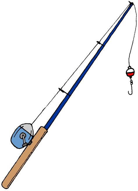 rod clipart fishing pole free images at clker vector clip