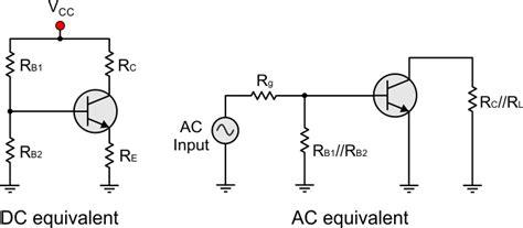 transistor ac equivalent circuit bjt transistor theory
