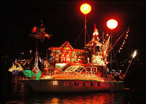 nc holiday flotilla event shuttle service