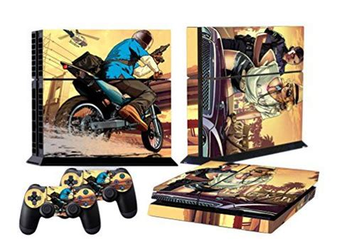 Ps4 Sticker Gta by Ps4 Skins Grand Theft Auto V Gta 5 Decal Cover For Sony Ps