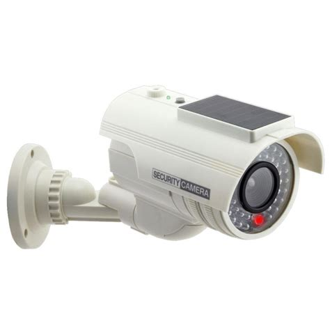 Home Depot Security Cameras by Cop Security Solar Powered Dummy Security White 15 Cdm17 The Home Depot
