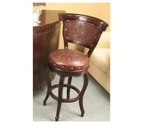 Western Swivel Bar Stools by Western Barstools Western Style Barstools