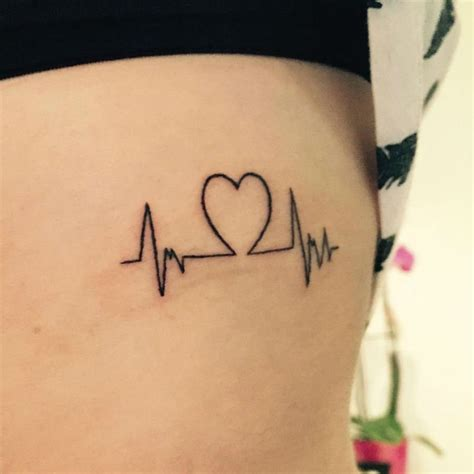heartbeat ink tattoo 35 satisfying heartbeat tattoo designs ideas images
