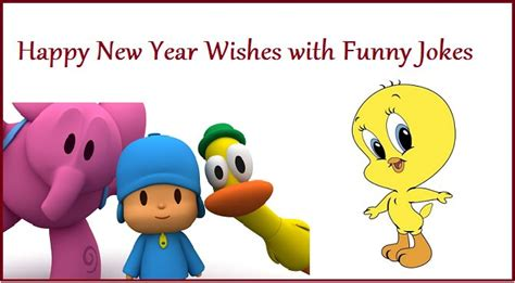 happy new year wishes with funny jokes nywq