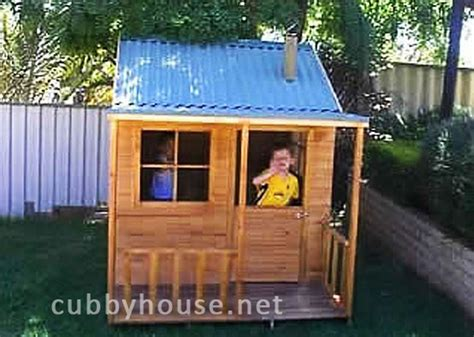 elevated cubby house plans cubby house plans