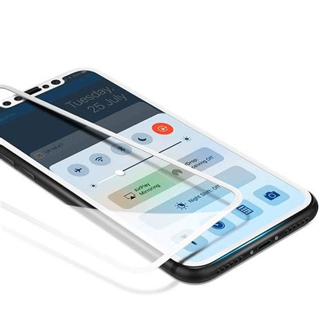Tempered Glass Iphone X Screen 5d bakeey 0 26mm 2 5d arc edge cover tempered glass screen protector for iphone x