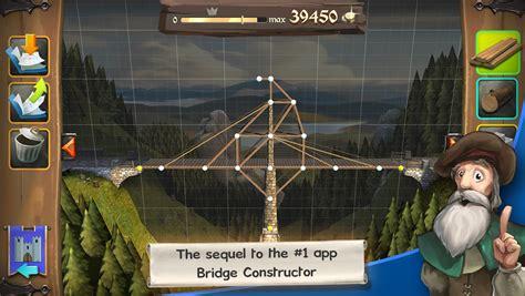 bridget constructor best bridge building game bridge constructor medieval android apps on google play