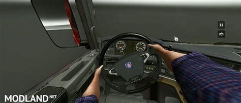 scania steering wheel on steering wheel v 1 01 mod for ets 2