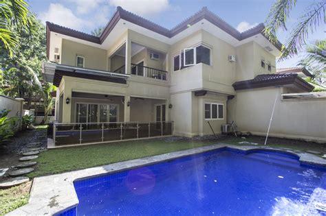bedroom house  swimming pool  rent  maria luisa park cebu grand realty
