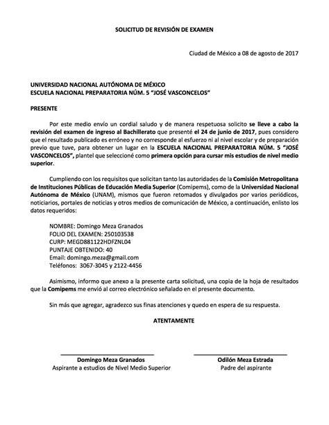 solicitar exencin al empadronamiento en mi huella en ejemplo de carta solicitud para solicitar revisi 243 n del