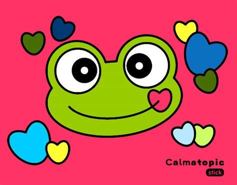 imagenes de ranas animadas navideñas dibujo de rana calmatopic amor pintado por lorenavila en
