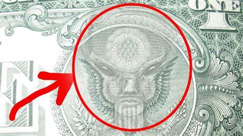imagenes ocultas en el billete de un dolar un extraterrestre en el billete de 1 dolar youtube