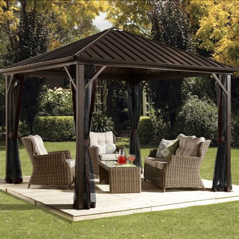 metal gazebo 34 metal gazebo ideas to enhance your yard and garden with
