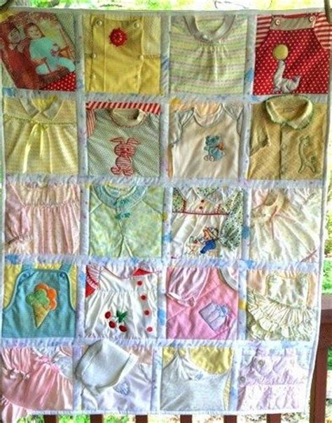 Quilts Made From Baby Clothes by The World S Catalog Of Ideas