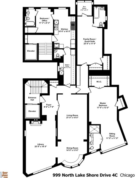chicago floor plans 999 north lake shore drive amazing floor plans by jfp