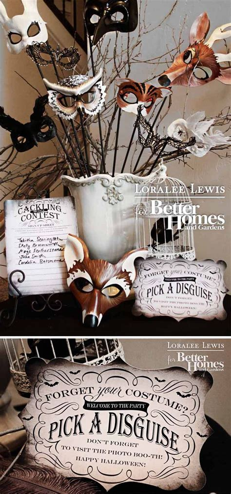 bhg halloween magazine loralee lewis feature top