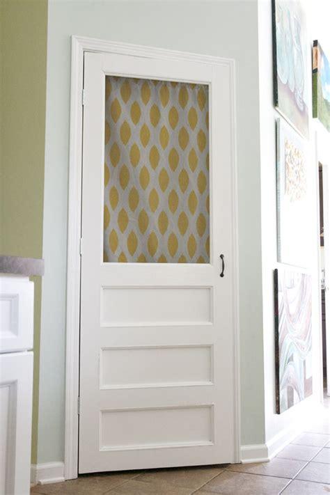 How To Make A Pantry Door by Diy How To Build A Screen Door