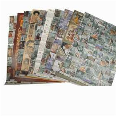 decoupage paper icons sheet 50x70 cm 20 asstd sheets
