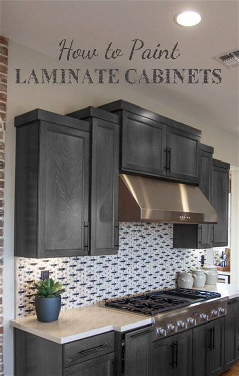 how to paint laminate cabinets 25 best ideas about painting laminate cabinets on