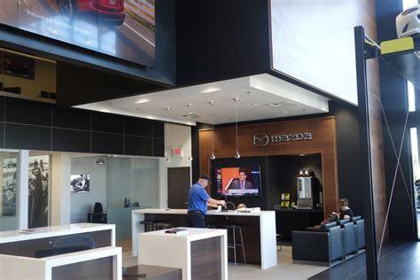 mazda dealerahip retail evolution mazda s new dealership design inside